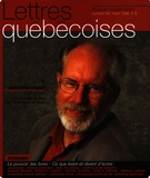 Cover of        Number 84, Winter 1996, pp. 5-56 Lettres québécoises