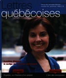 Cover of        Number 95, Fall 1999, pp. 5-64 Lettres québécoises