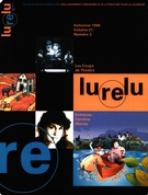 Cover of Volume 21, Number 2, Fall 1998, pp. 4-78, Lurelu