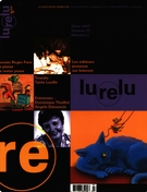 Cover of Volume 23, Number 3, Winter 2001, pp. 4-78, Lurelu