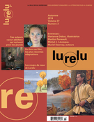 Cover of Volume 37, Number 2, Fall 2014, pp. 4-106, Lurelu