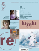 Cover of Volume 37, Number 3, Winter 2015, pp. 5-106, Lurelu