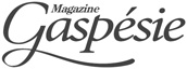 Logo for Magazine Gaspésie