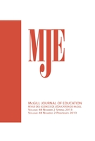 Cover of        Volume 48, Number 2, Spring 2013, pp. 269-455 McGill Journal of Education