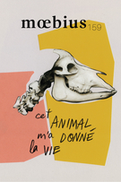 Cover forthe thematic issueCet animal m'a donné la vie