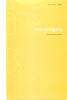 Cover of        Volume 1, Number 2, April 2007, pp. 6-131 Muséologies