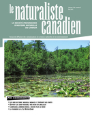 Cover of        Volume 139, Number 2, Summer 2015, pp. 2-54 Le Naturaliste canadien