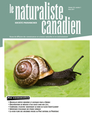 Cover of Volume 141, Number 1, Winter 2017, pp. 3-70, Le Naturaliste canadien