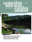 Cover of Volume 142, Number 3, Fall 2018, pp. 3-102, Le Naturaliste canadien