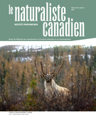 Cover of Volume 144, Number 1, Spring 2020, pp. 2-41, Le Naturaliste canadien