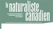 Logo for Le Naturaliste canadien