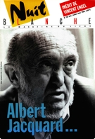Cover of Number 56, June–July–August 1994, pp. 2-80, Nuit blanche, magazine littéraire