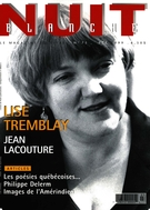 Cover of Number 75, Summer 1999, pp. 2-64, Nuit blanche, magazine littéraire