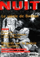 Cover of Number 79, Summer 2000, pp. 2-64, Nuit blanche, magazine littéraire