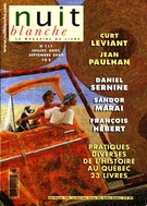 Cover of Number 111, Summer 2008, pp. 2-72, Nuit blanche, magazine littéraire