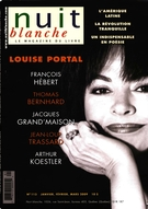 Cover of Number 113, Winter 2009, pp. 2-72, Nuit blanche, magazine littéraire