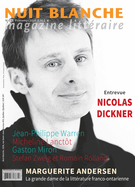 Cover of        Number 142, Spring 2016, pp. 3-66 Nuit blanche, magazine littéraire