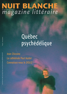 Cover forthe thematic issueQuébec psychédélique
