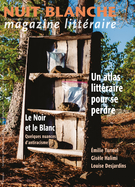 Cover for issue 'Number 162, Spring 2021' of the journal 'Nuit blanche, magazine littéraire'