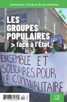 Cover forthe thematic issueLes groupes populaires face à l'État