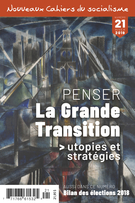 Cover forthe thematic issuePenser la Grande Transition