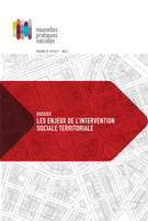 Cover of Les enjeux de l'intervention sociale territoriale, Volume 26, Number 1, Fall 2013, pp. 1-278, Nouvelles pratiques sociales