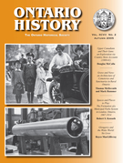 Cover of        Volume 97, Number 2, Fall 2005, pp. 121-242 Ontario History