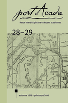 Cover forthe thematic issuePrise en charge et développement territorial en Acadie