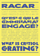 Cover forthe thematic issueWhat is Critical Curating?