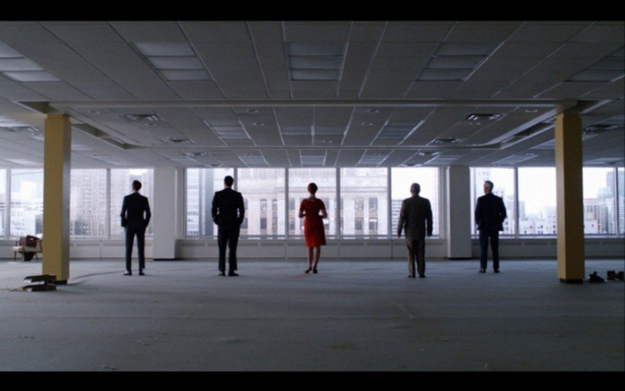The human, the architectural, and serial design in season 5 of Mad Men.