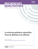 Cover of Volume 38, Number 1, Spring 2019, pp. 1-161, Recherches qualitatives