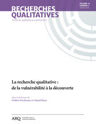 Cover of Volume 38, Number 2, Fall 2019, pp. 1-141, Recherches qualitatives