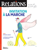 Cover forthe thematic issueInvitation à la marche