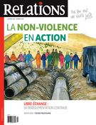 Cover of La non-violence en action,        Number 806, January–February 2020, pp. 5-50 Relations
