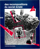 Cover of Des recompositions du social éclaté,        Number 20 (60), Fall 1988, pp. 3-207 International Review of Community Development