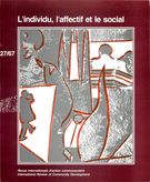 Cover forthe thematic issueL'individu, l'affectif et le social