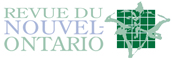 Logo for Revue du Nouvel-Ontario