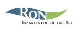 Logo for Romanticism on the Net