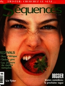 Cover of Jeunes comédiens : la prochaine vague, Number 184, May–June 1996, pp. 1-60, Séquences