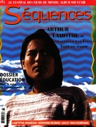 Cover of Pour la suite de l'enseignement du cinéma, Number 185, July–August 1996, pp. 1-60, Séquences