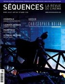 Cover of Christopher Nolan, Number 279, July–August 2012, pp. 1-64, Séquences