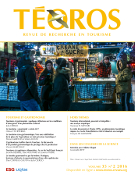 Cover of Tourisme et gastronomie, Volume 35, Number 2, 2016, Téoros