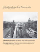 Cover of Volume 43, Number 2, Spring 2015, pp. 5-67, Urban History Review