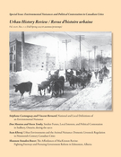 Cover of Environmental Nuisances and Political Contestation in Canadian Cities, Volume 44, Number 1-2, Fall 2015, Spring 2016, pp. 5-87, Urban History Review