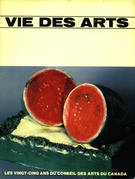 Cover of Volume 27, Number 107, Summer 1982, pp. 12-96, Vie des arts