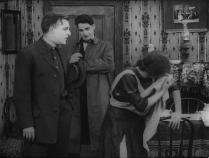 Verisimilar performance style relies on costuming-as-prop to convey emotion in Get Rich Quick (1911).