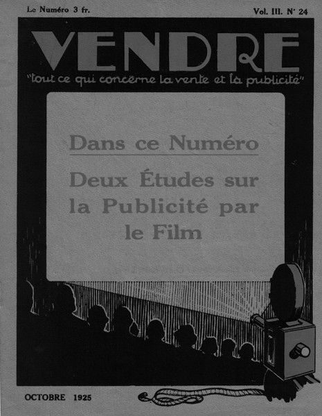 Anonymous lithograph, Vendre (cover, 1925).