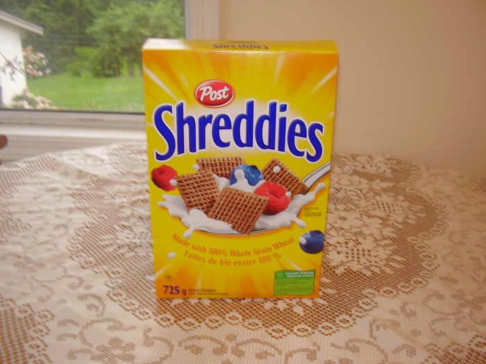 Beth's photograph of Shreddies