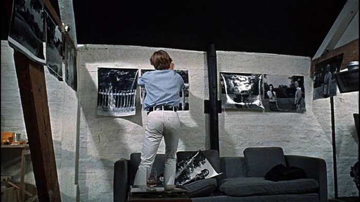 Image tirée du film Blow-Up (Michelangelo Antonioni, 1966).