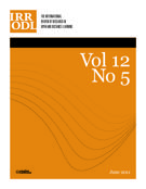 Couverture de        Volume 12, numéro 5, juin 2011, p. 1-161 International Review of Research in Open and Distributed Learning